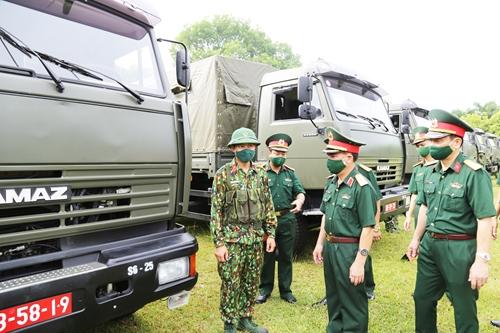 Lãnh đạo Quân khu 2 kiểm tra công tác sẵn sàng chiến đấu