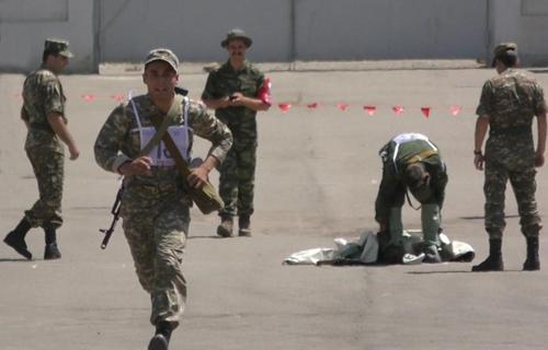 """Kazakhstan khát khao chiến thắng trong nội dung """"Chiến sĩ hoà bình"""""""