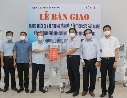 Chuyến tàu đặc biệt chi viện cho TP Hồ Chí Minh chống dịch