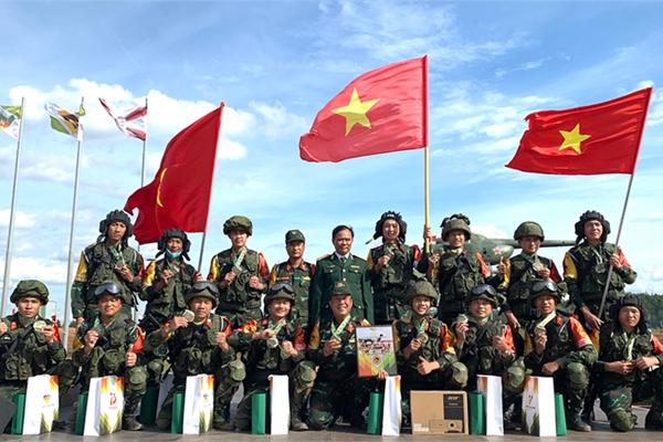 Thư của Bộ trưởng Bộ Quốc phòng gửi cán bộ, chiến sĩ tham gia Hội thao Quân sự quốc tế 2021