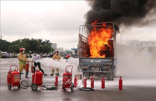 Học kinh nghiệm phòng cháy qua Báo Quân đội nhân dân