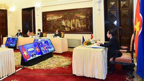 ASEAN cùng các đối tác tiếp tục phối hợp ứng phó với đại dịch
