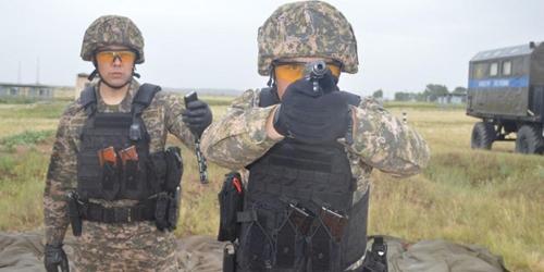 Quân cảnh Kazakhstan luyện tập chuẩn bị tranh tài tại Army Games 2021