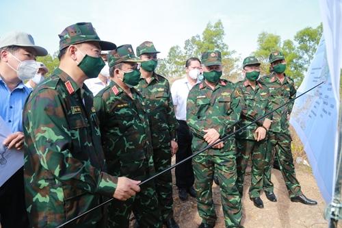 Quân khu 5 kiểm tra, thẩm định các dự án trên bán đảo Sơn Trà