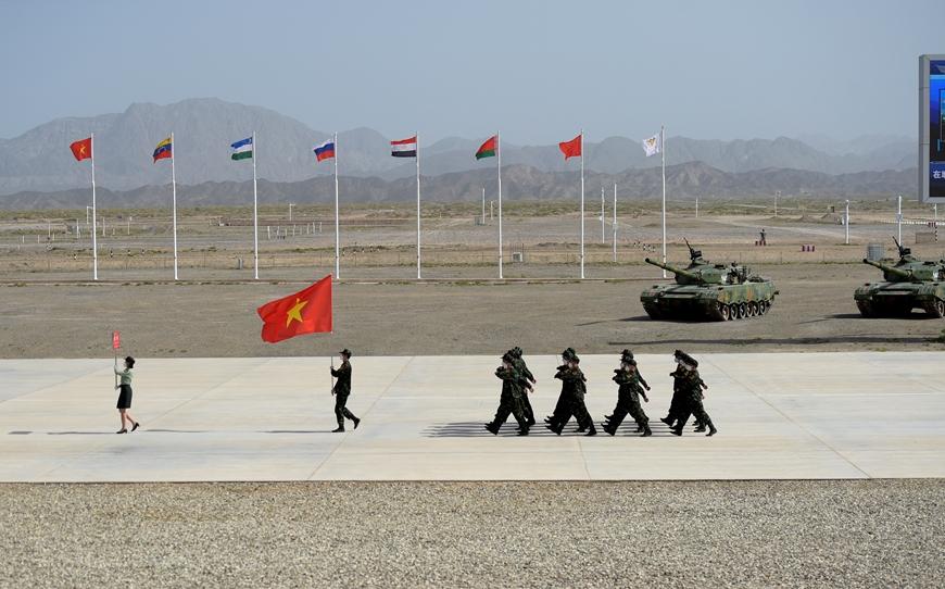 Khai mạc Hội thao Quân sự quốc tế 2021 tại Trung Quốc