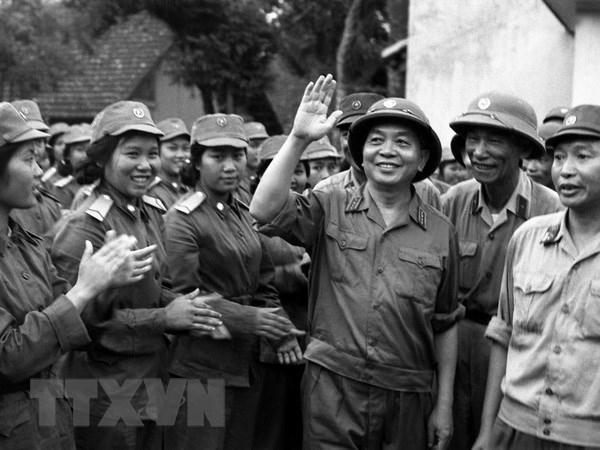 """Đại tướng Võ Nguyên Giáp - """"Người Anh Cả"""" của Quân đội nhân dân Việt Nam"""