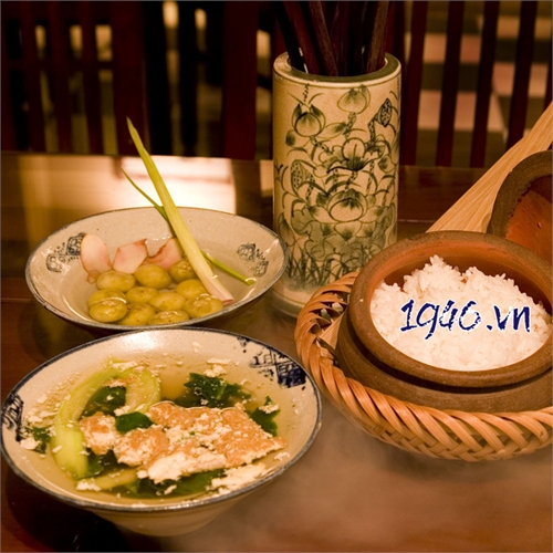 Bát chiết yêu - một nét tinh hoa văn hóa Việt