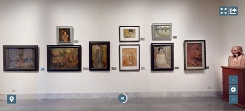 Bảo tàng Mỹ thuật Việt Nam ra mắt công nghệ tham quan trực tuyến 3D Tour