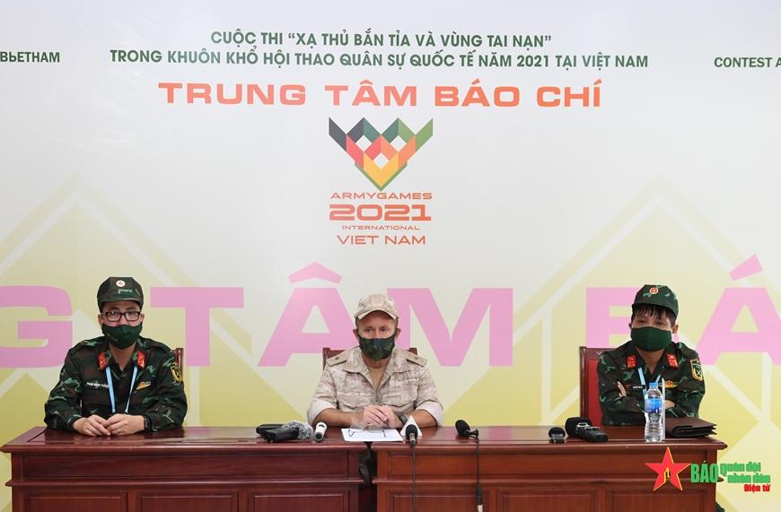 Sự chuẩn bị chu đáo của Việt Nam vượt xa kỳ vọng của Ban tổ chức Army Games 2021