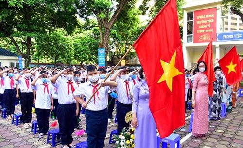 Hà Nội: Học sinh lớp 1 học trực tuyến từ ngày 13-9-2021