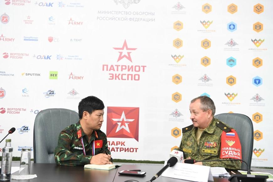 Cảm ơn sự tham gia ngày càng tích cực của Việt Nam ở Army Games