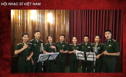 """""""Tiếng hát át Covid"""" nhân Ngày Âm nhạc Việt Nam"""