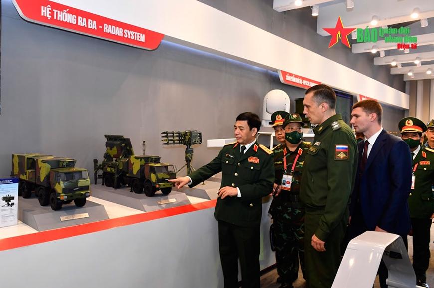 Đại tướng Phan Văn Giang tiếp Thứ trưởng Quốc phòng Liên bang Nga