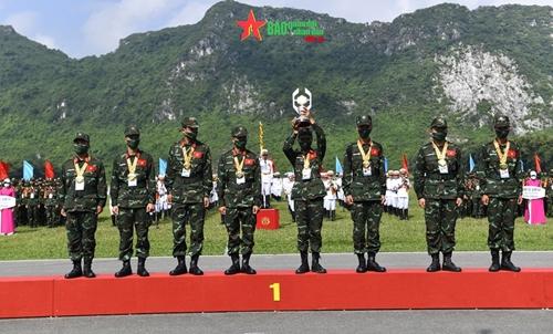 Đoàn Quân đội nhân dân Việt Nam giành thứ hạng cao tại Hội thao Quân sự Quốc tế 2021