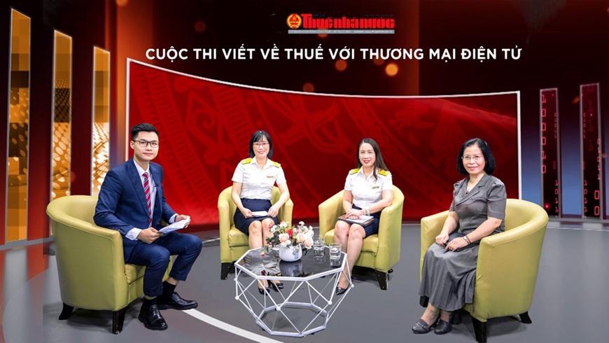 Phát động Cuộc thi viết về lĩnh vực thuế đối với thương mại điện tử