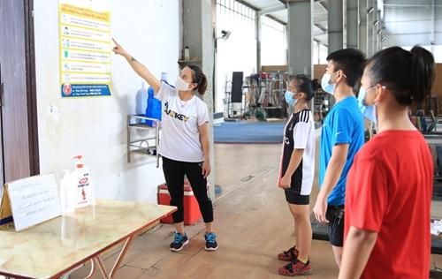 Chủ động bảo vệ sức khỏe huấn luyện viên, vận động viên