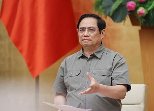 Thủ tướng Phạm Minh Chính: Tránh chủ quan, nóng vội muốn mở lại các hoạt động sản xuất, kinh doanh ngay