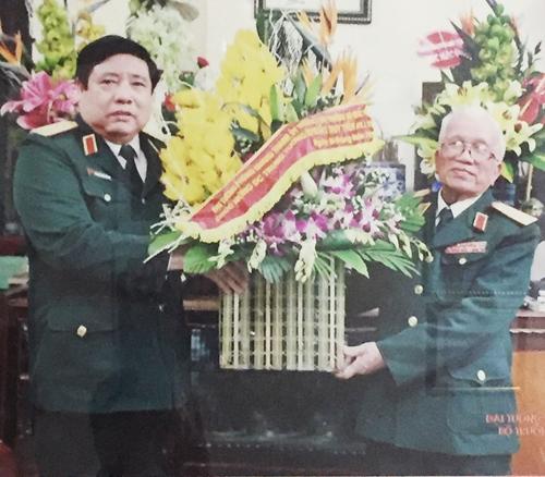 Đại tướng Phùng Quang Thanh và người thủ trưởng cũ
