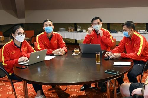 Đội tuyển futsal Việt Nam sẵn sàng đấu Brazil