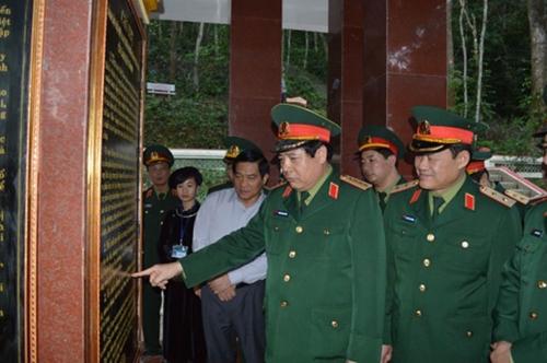 Đại tướng Phùng Quang Thanh - ký ức không phai mờ trong tôi