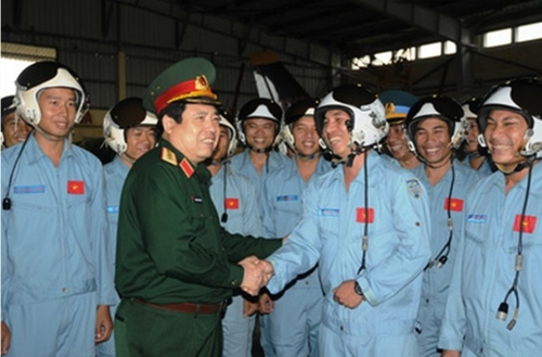 Đại tướng Phùng Quang Thanh với Bộ đội Phòng không-Không quân