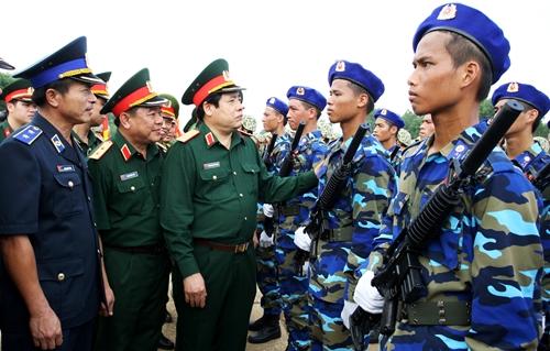 Đại tướng Phùng Quang Thanh với công tác huấn luyện