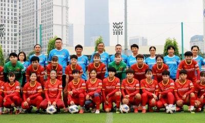 Danh sách 23 cầu thủ đội tuyển nữ bóng đá nữ Việt Nam đi thi đấu tại Tajikistan