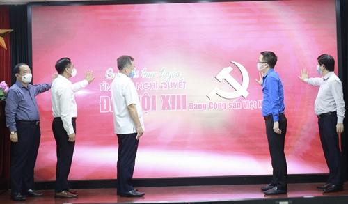 Phát động cuộc thi tìm hiểu Nghị quyết Đại hội XIII của Đảng trong thanh niên Việt Nam