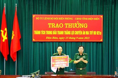 Điện Biên: Trao thưởng thành tích trong đấu tranh thắng lợi chuyên án ma túy