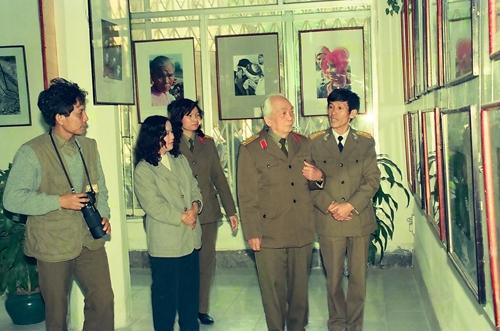 May mắn vì được chụp ảnh Đại tướng Võ Nguyên Giáp