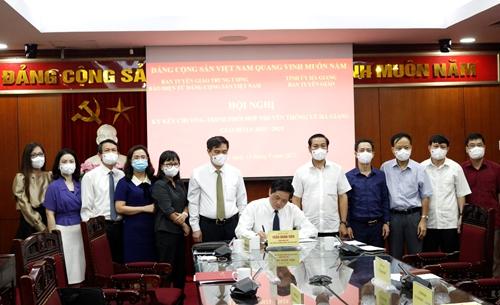 Tăng cường thông tin, tuyên truyền về tỉnh Hà Giang