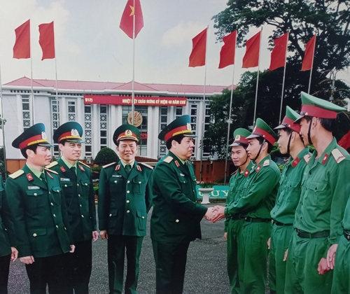 Đại tướng Phùng Quang Thanh trong trái tim cán bộ, chiến sĩ Quân đoàn 1