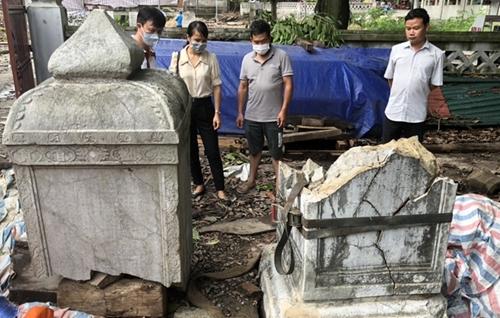 Rà soát vụ việc làm vỡ bia cổ tại Di tích chùa Thổ Hà, tỉnh Bắc Giang