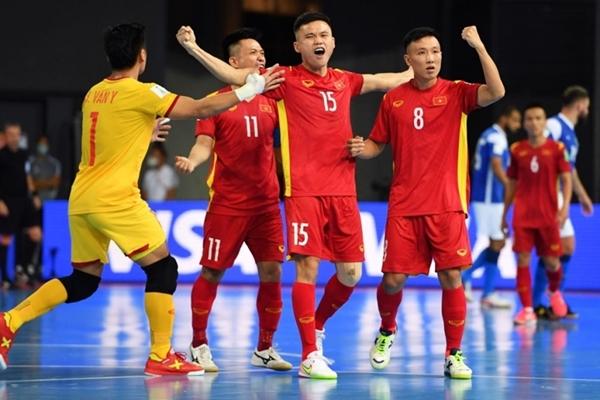 Bảng xếp hạng Futsal World Cup 2021 Việt Nam sáng cửa đi tiếp