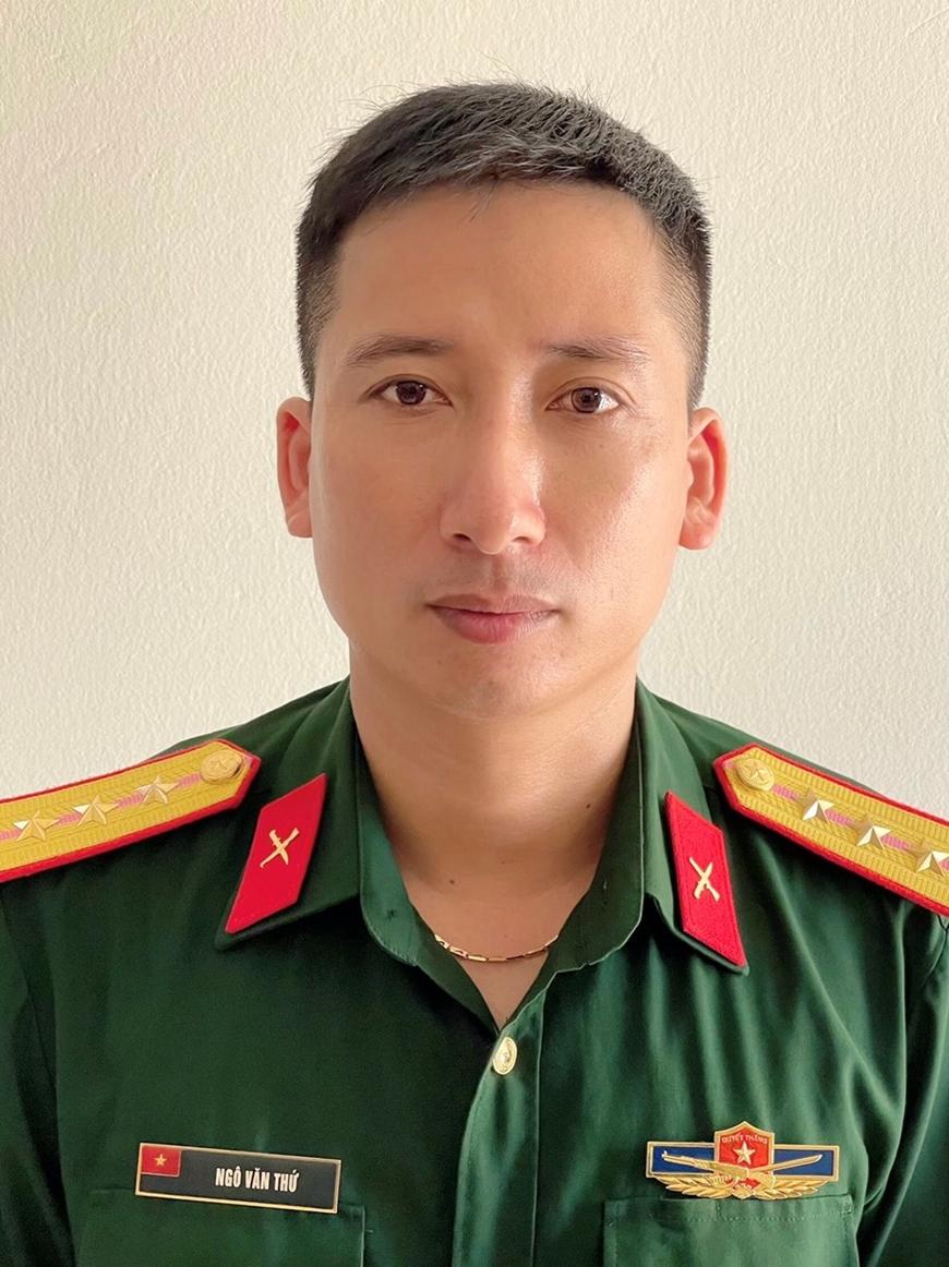 Thượng úy QNCN Ngô Văn Thứ dũng cảm cứu người đuối nước