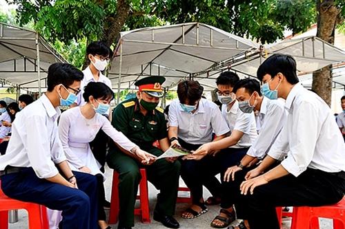 Các trường quân đội công bố mức điểm nhận hồ sơ xét tuyển đại học, cao đẳng quân sự năm 2021