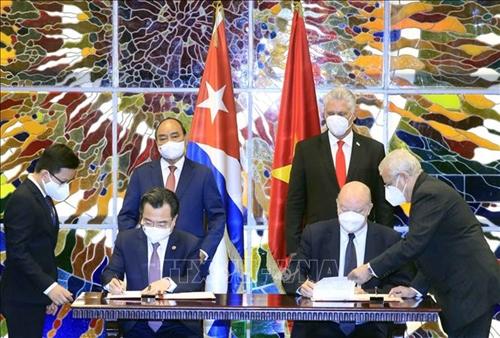 Chủ tịch nước Cộng hòa Cuba Miguel Díaz-Canel Bermúdez: Cuba không lẻ loi nhờ tình đoàn kết của Việt Nam