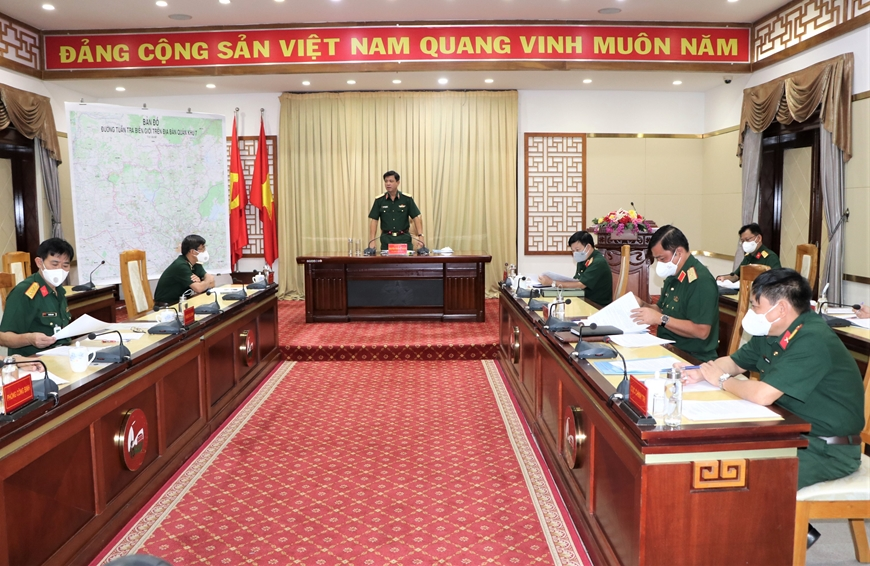 Quân khu 7 hoàn thành quyết toán dự án Đường tuần tra biên giới