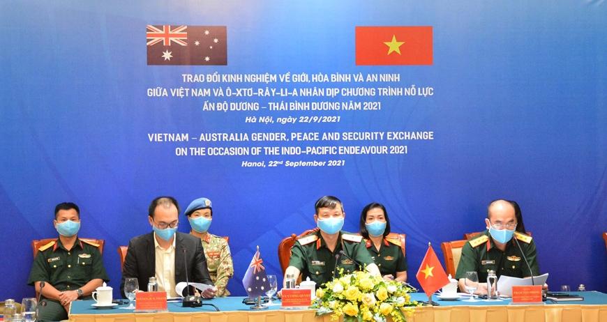 Việt Nam-Australia trao đổi kinh nghiệm về giới, hòa bình và an ninh