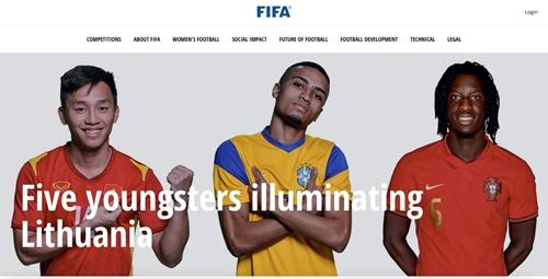 Nguyễn Văn Hiếu lọt Top 5 cầu thủ trẻ tỏa sáng ở Futsal World Cup 2021