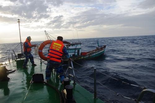 Giữ vững an ninh, an toàn trên vùng biển Tây Nam