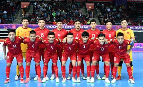 Cảm hứng futsal Việt Nam trước giờ chinh phục