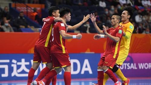 Dư luận quốc tế đánh giá cao Đội tuyển Futsal Việt Nam kiên cường trước Nga