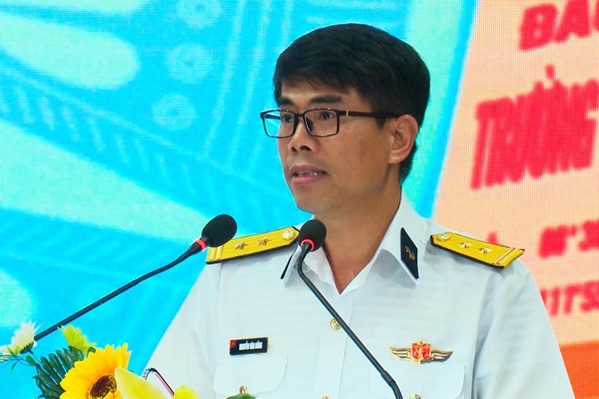 Quân chủng Hải quân khen thưởng các cá nhân, tập thể xuất sắc lần đầu tham gia Army Games