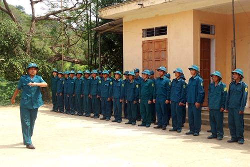 Mô hình huấn luyện dân quân hiệu quả ở Kỳ Sơn