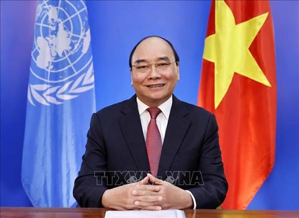 Chủ tịch nước Nguyễn Xuân Phúc gửi thông điệp tại Hội nghị thượng đỉnh các hệ thống lương thực của Liên hợp quốc