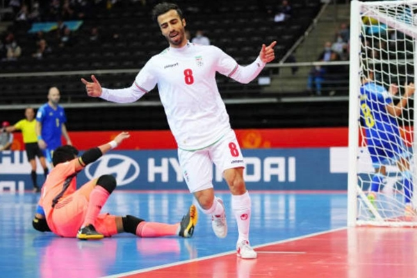 Đội tuyển Iran tuột vé vào bán kết World Cup Futsal dù dẫn trước 2 bàn