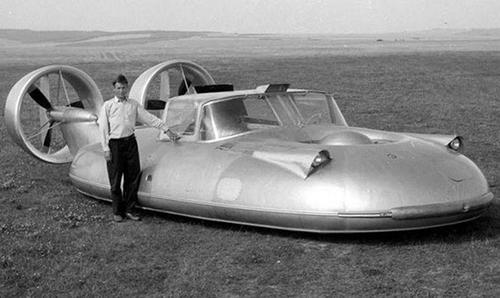 GAZ-16 – chiếc ô tô bay đầu tiên được Liên Xô chế tạo vào thập niên 1960