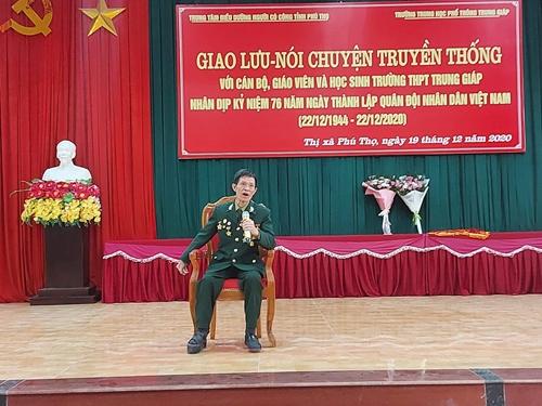Cựu chiến binh Nguyễn Hồng Dậu: Còn sức còn cống hiến