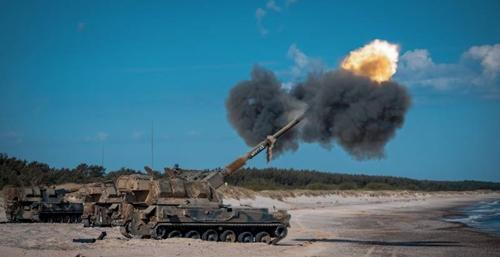 Khám phá pháo tự hành AHS Krab của Quân đội Ba Lan